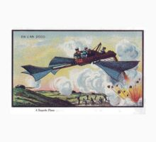Early 20th Century images of France in 2000 - Torpedo Plane by caldayjd