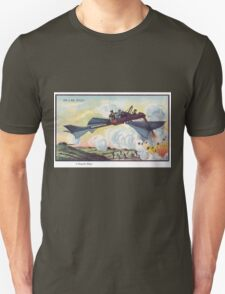 Early 20th Century images of France in 2000 - Torpedo Plane Unisex T-Shirt