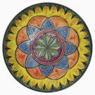 Ornate Star Mandala  by KFStudios