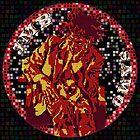 Jean-Michel Basquiat Mosaic by Celticana