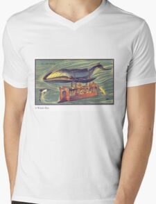 Early 20th Century images of France in 2000 - Whale Bus Mens V-Neck T-Shirt