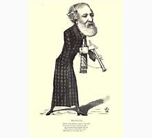 19th Century caricature of Robert Browning Unisex T-Shirt