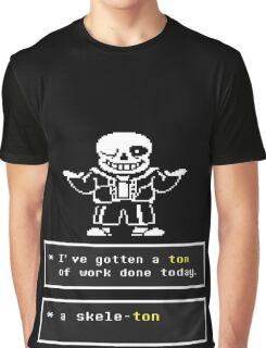 Undertale - Sans Skeleton - Undertale T shirt Graphic T-Shirt