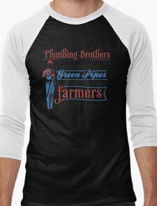 Plumbing Brothers Men's Baseball ¾ T-Shirt