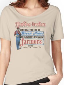 Plumbing Brothers Women's Relaxed Fit T-Shirt
