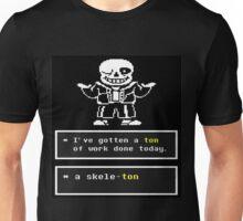 Undertale - Sans Skeleton - Undertale T shirt Unisex T-Shirt