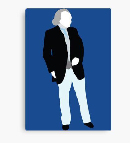 The First Doctor - Doctor Who - William Hartnell Canvas Print