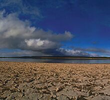 Sleaford Mere Conservation Park - Salt Lake by Paul Gilbert
