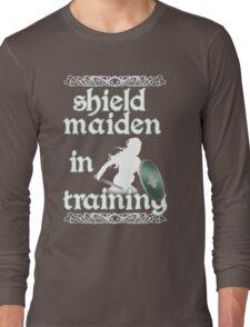 Shield Maiden in Training - Vikings Long Sleeve T-Shirt