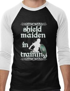 Shield Maiden in Training - Vikings Men's Baseball ¾ T-Shirt