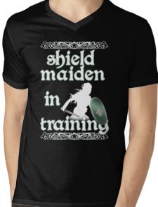 Shield Maiden in Training - Vikings Mens V-Neck T-Shirt