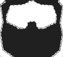 Emergency Beard Sticker