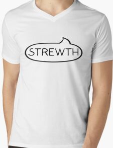 Australian Slang-Strewth! Mens V-Neck T-Shirt