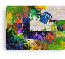 Tardis (abstract-informel-tachisme) Canvas Print