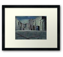 Tardis (Untitled) Framed Print