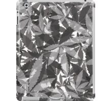 Gray Pot Leaves iPad Case/Skin