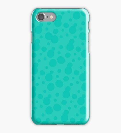 Splatoon Bubbles - Light Blue iPhone Case/Skin