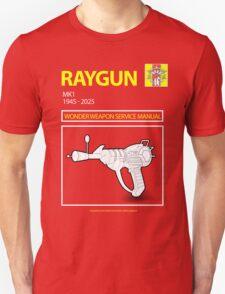 Ray gun Haynes Manual t shirt Unisex T-Shirt