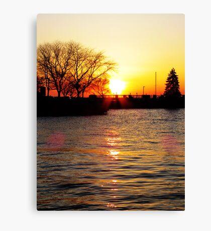 Sandusky Bay Sunset Canvas Print
