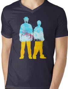 Respect the Chemistry Mens V-Neck T-Shirt