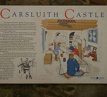 Carsluith Castle Scotland - Description by Allen Lucas