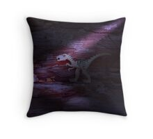 Still on the Prowl Throw Pillow