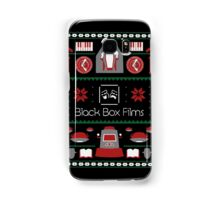Black Box Films Christmas Sweater (Red & Green) Samsung Galaxy Case/Skin