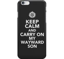 Supernatural Wayward Son case iPhone Case/Skin