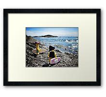 Surf's Up! (1 of 3) Framed Print
