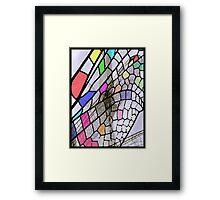 6_10_03_P1230065_Dragon_Fly_Pattern Framed Print
