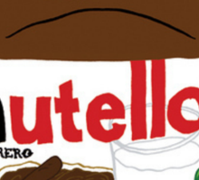 Chocolatey Nutella Design! Yum Sticker