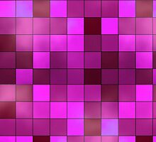 Pink Squares by TinaGraphics