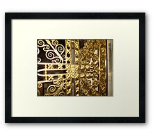 The Golden Gate, Exeter Cathedral Framed Print