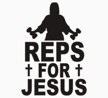 Reps For Jesus One Piece - Short Sleeve