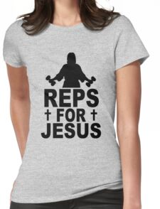 Reps For Jesus Womens Fitted T-Shirt