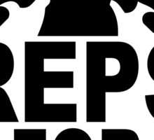 Reps For Jesus Sticker