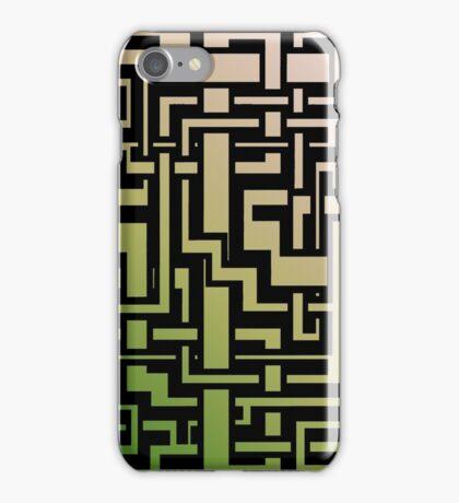Abstract Nature Labirint iPhone Case/Skin