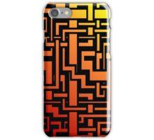 Abstract Incandescent Labirint iPhone Case/Skin
