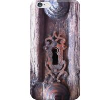 Baroque Keyhole  iPhone Case/Skin