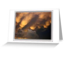 ©HCS Cumulos Mamma Or Mammatus Clouds I Greeting Card