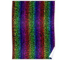 Rainbow Bar - Cubism Poster