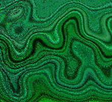 River Of Malachite 2 by Richard Maier
