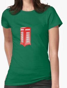 Telephone Womens Fitted T-Shirt