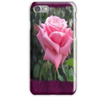 Pink Roses in Anzures 6 Blank P8F0 iPhone Case/Skin