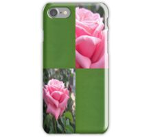 Pink Roses in Anzures 6 Blank Q5F0 iPhone Case/Skin