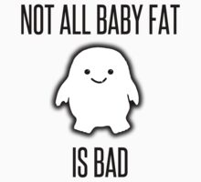 Not All Baby Fat is Bad! - black One Piece - Long Sleeve