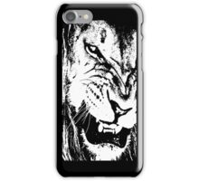 B&W Lion iPhone Case/Skin