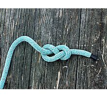 Blue Knot Photographic Print