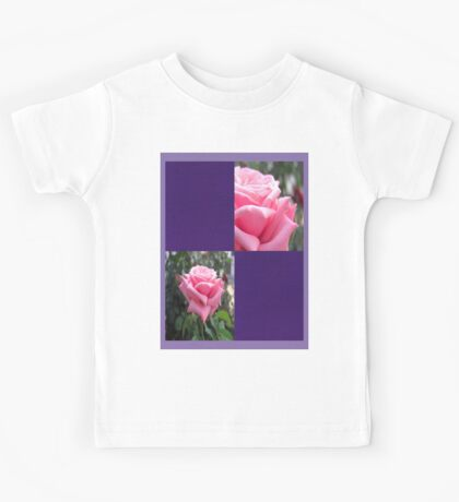 Pink Roses in Anzures 6 Blank Q9F0 Kids Tee