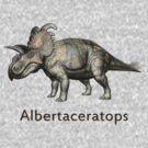 Albertaceratops T_Shirt by Walter Colvin
